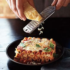 Three-Cheese Lasagna   MyRecipes.com