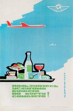 ..Aeroflot poster