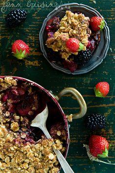 Fruit Crumble #foodphotography