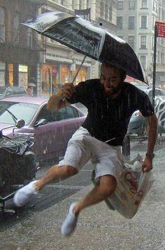 Rain gear umbrellas, singing, get motivated, happy people, weather, blog, script, dance, rain