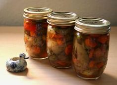 Classic jalapeno pickles or jalapenos escabeche, made with fresh jalapeno chili peppers, white onions, garlic, carrots, cider vinegar and herbs.