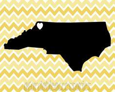 Appalachian State University Chevron Print  by AfordableAccesories