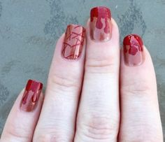 halloween nails for girls