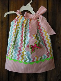 Easter Bunny Pillowcase Dress by MyDaughtersShop on Etsy
