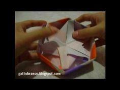 origami box, hexagon box