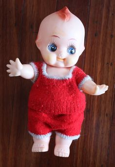 A Kewpie doll from the 1960's. :-)