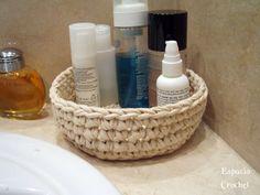 Cesto de Trapillo ideal para el baño