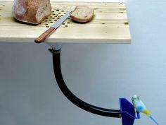 Timesaver DIY: Combination Cutting Board and Bird Feeder