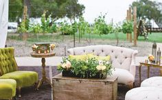 15 Lounge Ideas for 15 Wedding Styles