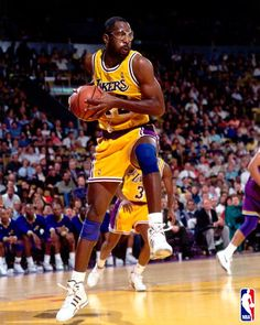 James Worthy, who played for the LA Lakers from 1982 to 1994.