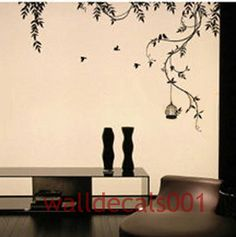 Vinyl wall decals wall sticker  tree decals wall by walldecals001, $45.00