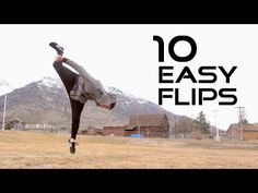 10 Flips Anyone Can Learn - Flip Progressions - YouTube