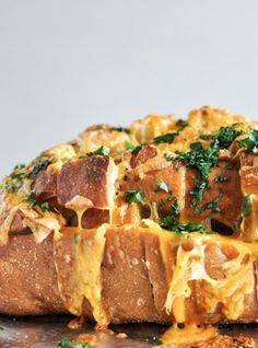 Cheddar Tailgating Bread.   howsweeteats.com