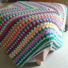 giant granny square-