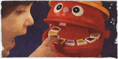 1970s Toys. Mr. Mouth. I LOVED this toy!!! Playing music on its teeth LOL! How fitting I'm in the dental field!