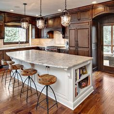 White Kitchen Island Design Ideas, Pictures, Remodel, and Decor - page 2