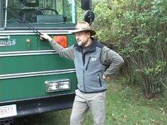 Video Tour of Jake's School Bus Conversion