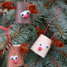 Super Easy Crafts for Christmas | 25 Easy Christmas Crafts for Kids - hands on : as we grow