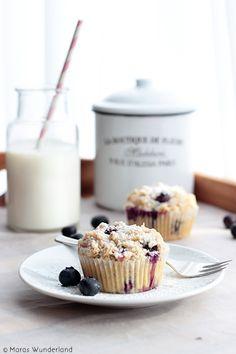 Heidelbeer-Streusel-Muffins