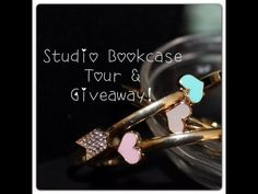 Style & Beauty Studio Bookcase Tour + a Giveaway!