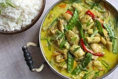 Slow-Cooker Coconut Ginger Chicken & Vegetables | Simple Bites