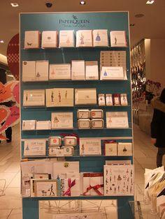 paper queen display...