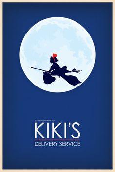 """""""Kiki's Delivery Service"""" by Hayao MIYAZAKI, Japan"""