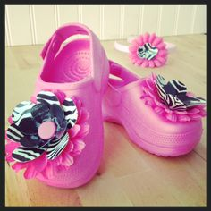 Think these would take those Jelly Shoes to a whole new level!