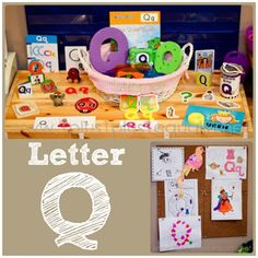 Home #Preschool Letter Q