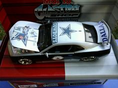 Dallas Cowboys customize Custom Shop diecast collection 2010 Chevrolet Camaro SS