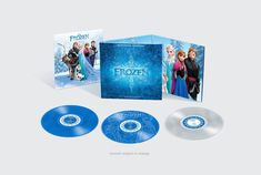With the celebration of Frozen coming to Blu-Ray Walt Disney Records is giving away a Frozen Vinyl Record Set: http://di.sn/gZT