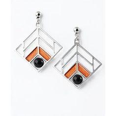 Frank Lloyd Wright Walser House Earrings