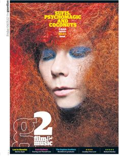 #cover Guardian #magazine feat. Björk
