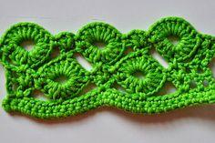 Rings of Love Crochet Stitch Pattern - Free... http://freecrochetpatterns3808.blogspot.com/