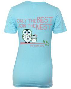 Chi Omega Bid Day Shirts
