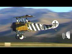 Five World War 1 Fokker Dr.1 triplanes
