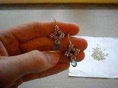 Tutorial: Easy Beaded Earrings