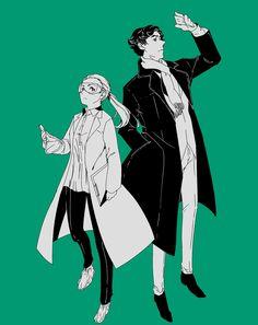 Sherlock and Molly Hooper