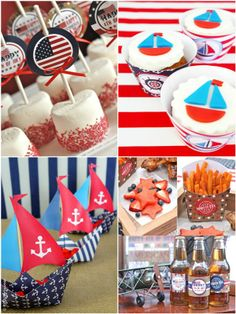 4th of July SALE: 50% OFF Red, White and Blue Printables!! #4thofjuly #USA #redwhiteblue #party #printables