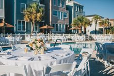 Weddings at Wild Dunes Resort's Oceanfront Grand Pavilion | Blush & Champagne Charleston Wedding at Wild Dunes Resort | #WildDunesWeddings | Renee Nicole Design + Photography | http://wilddunesweddings.com