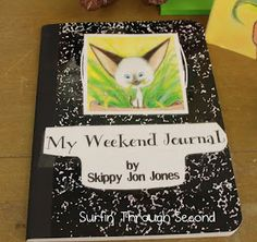 What a great way to make connections from preschool to home. As a teacher I like to add take home parent envolvment activities for the whole family to share. When the child returns to school on Monday we discuss weekend journals during group-time