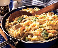 Pork and Noodle Skillet