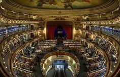 El Ateneo, in Buenos Aires. previously known as Teatro Gran Splendid