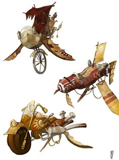 Steampunk Vehicle Colour