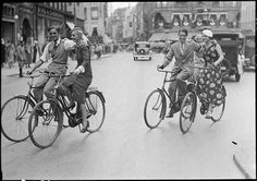 Vintage Copenhagen Cycle Chic. Bicycling never goes out of style.