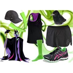 I Run Disney - Maleficent by jwebber121110 on Polyvore