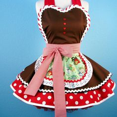 Gingerbread apron!  Too cute!!