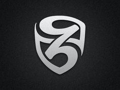 Z Shield Logo #log #branding