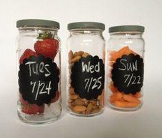 Food Storage Jars