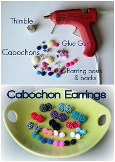 easy earrings, great gift idea!